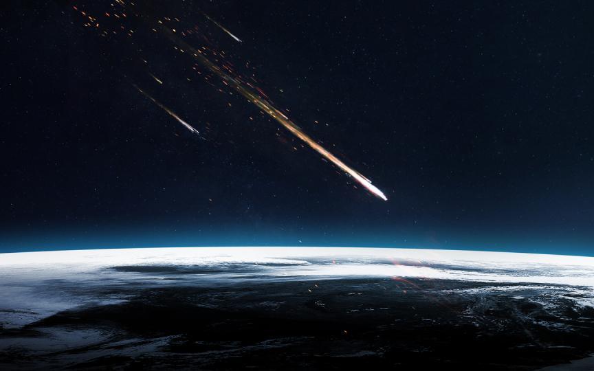астероиден дъжд