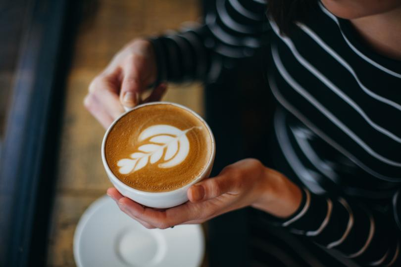 кафе със сметана