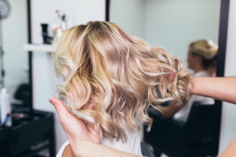 красива лъскава коса