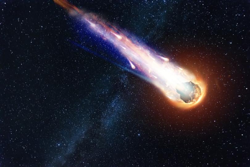 комета в Космоса