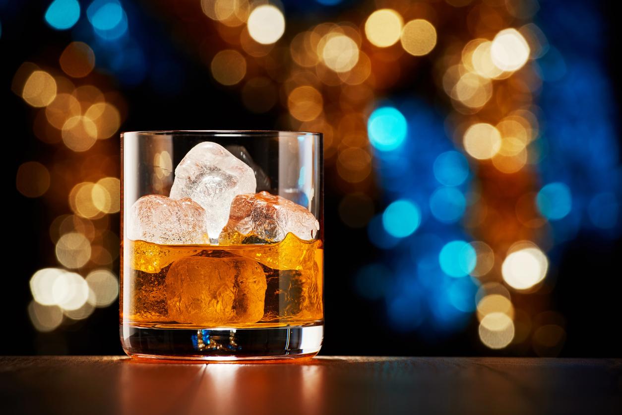 уиски с лед