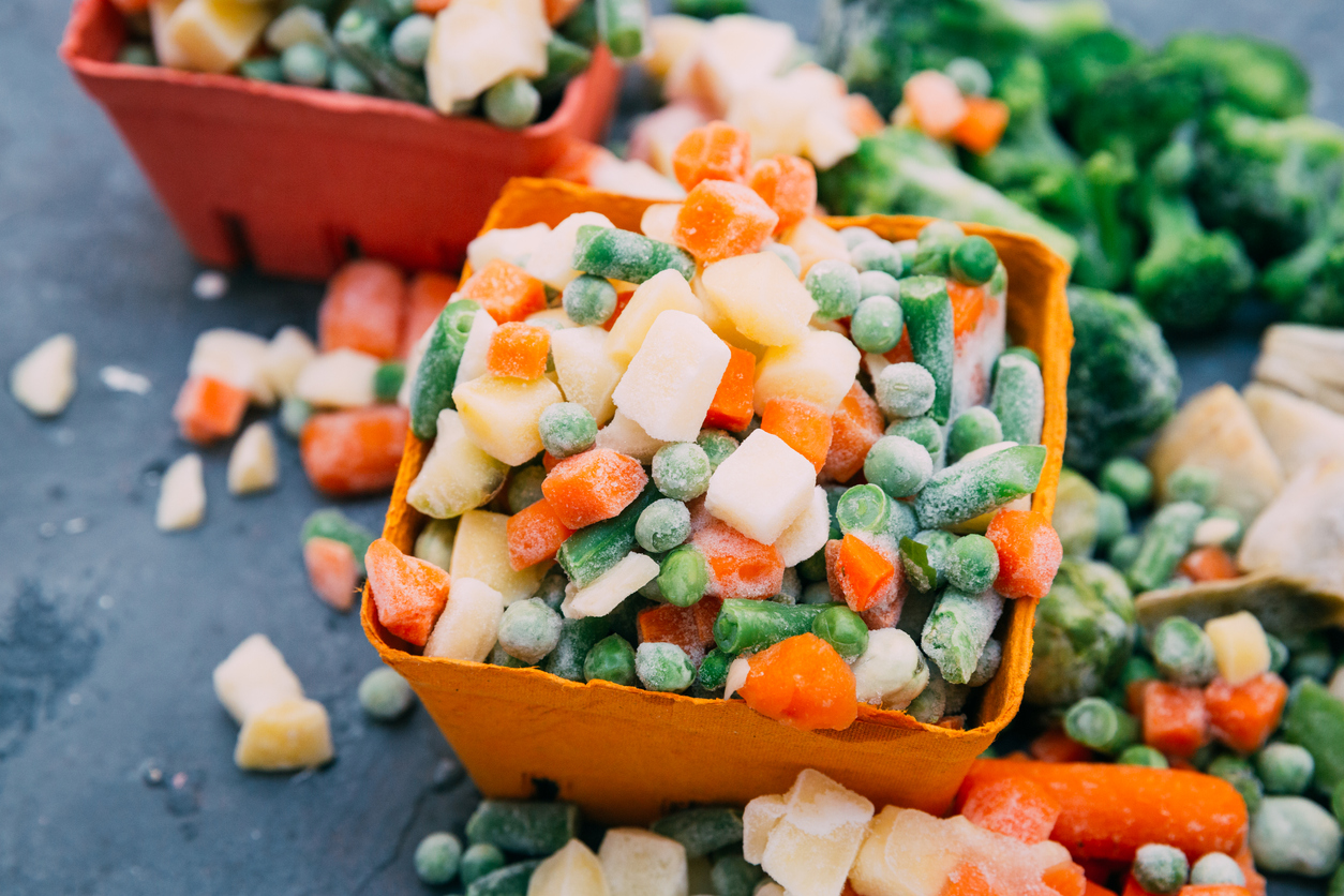 замразени зеленчуци