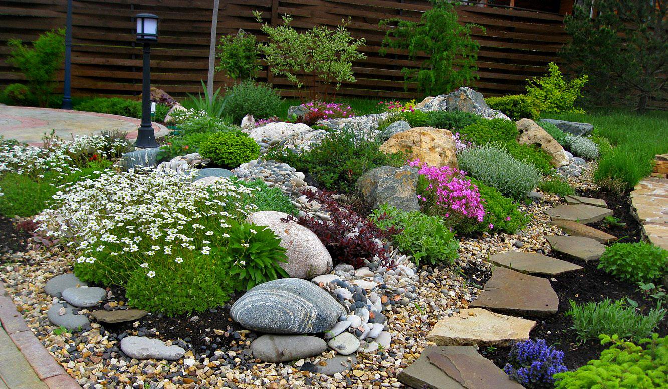 идеи с камъчета за двора