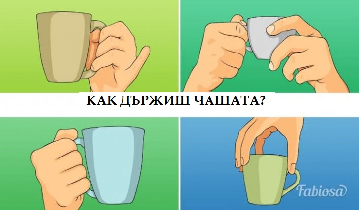 тест с чаша