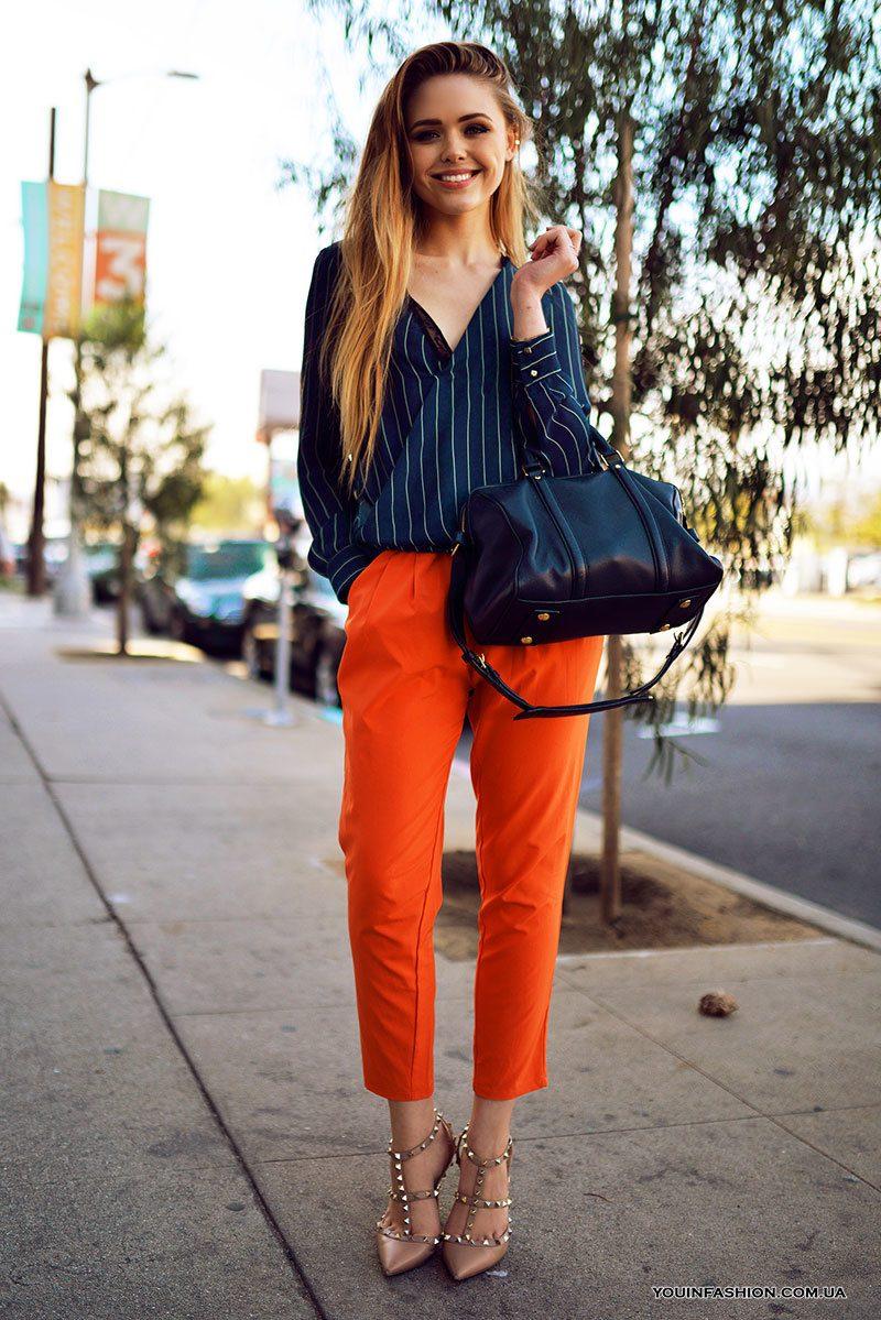 оранжеви чинос