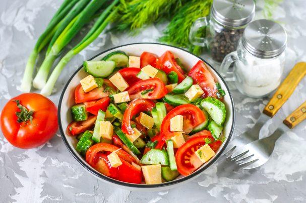 краставици и домати салата