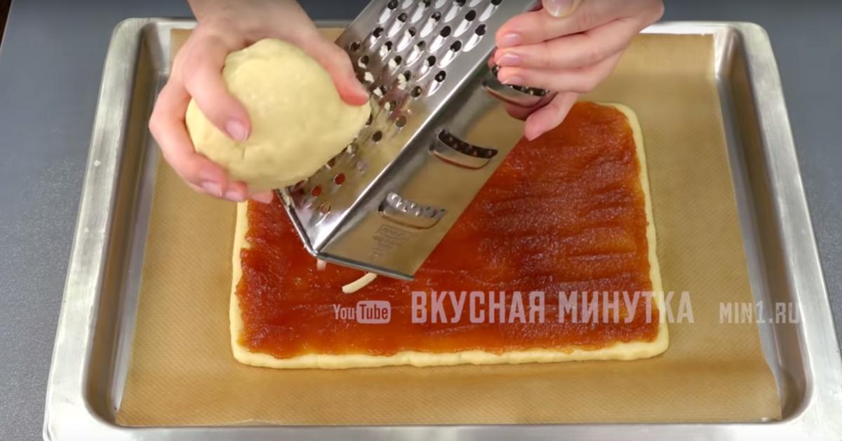 настъргано тесто