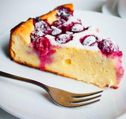 диетичен сладкиш с вишни