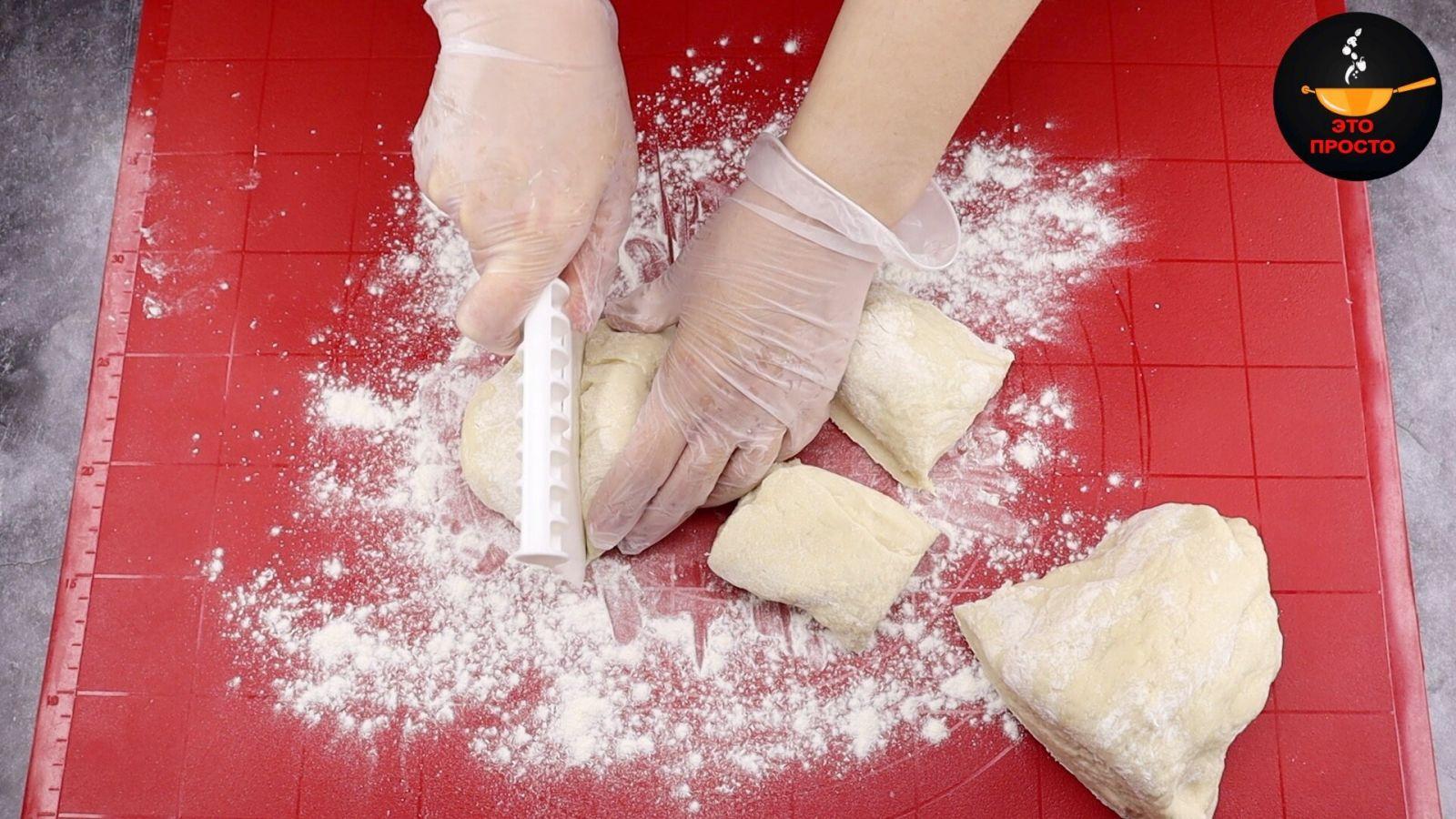 парчета тесто
