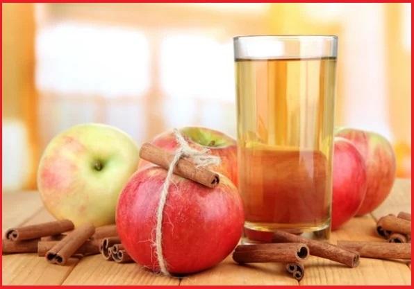 ябълкова вода с канела