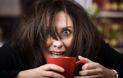кафе превъзбуда