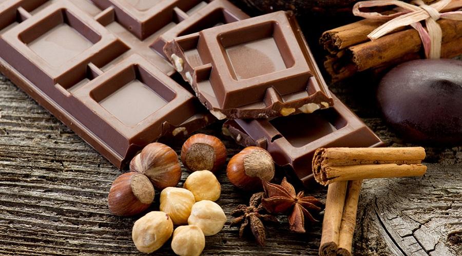 шоколад с ядки