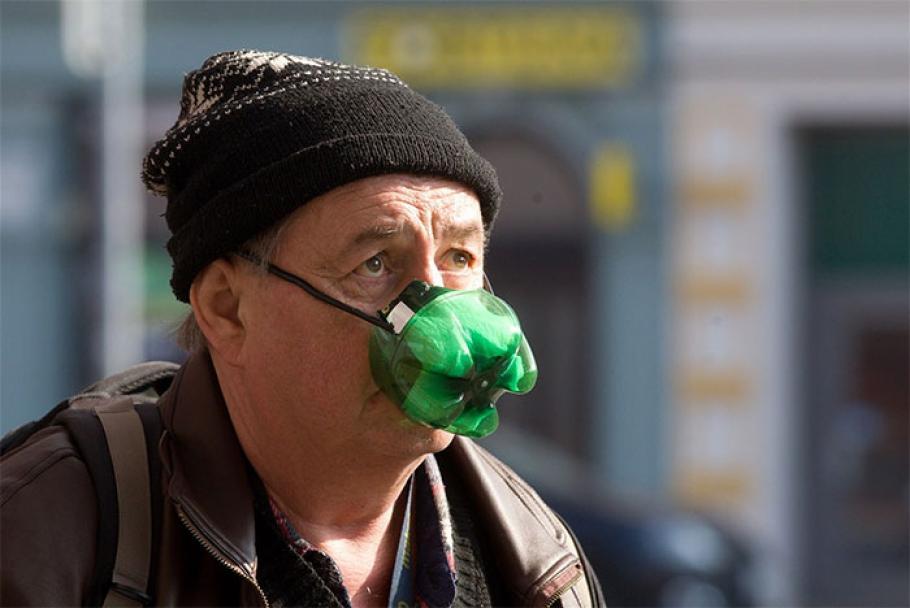 самоделна защитна маска