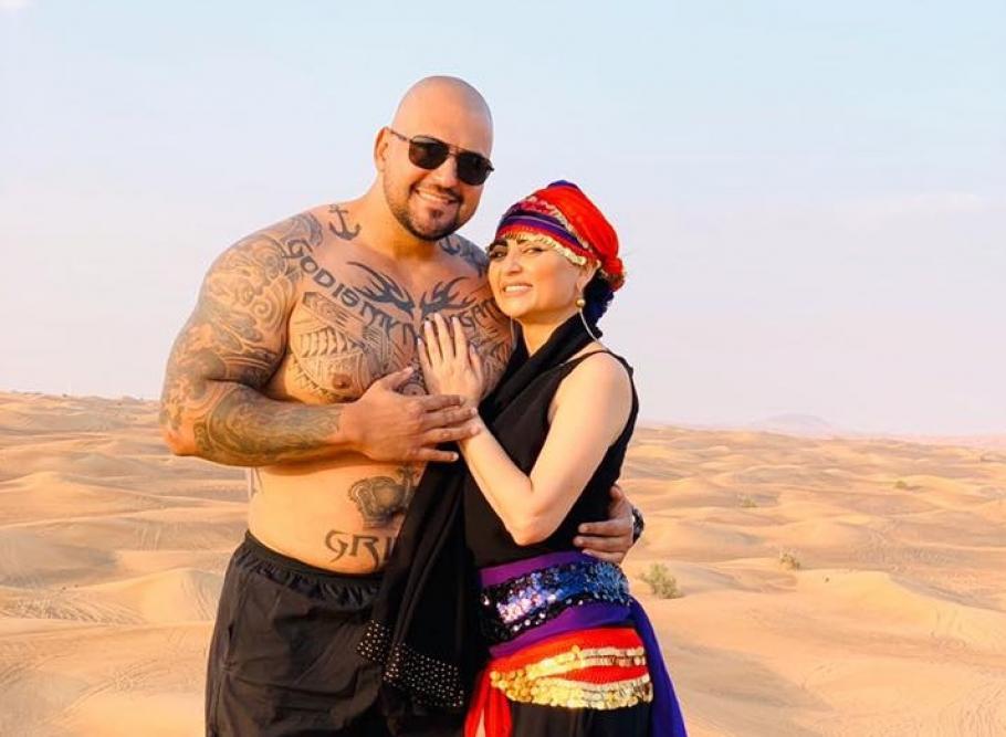 Софи и Гринго в Дубай