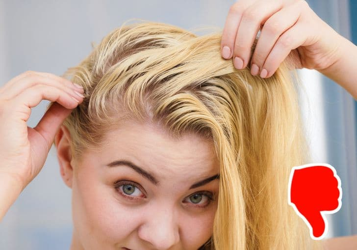 неизплакване на косата