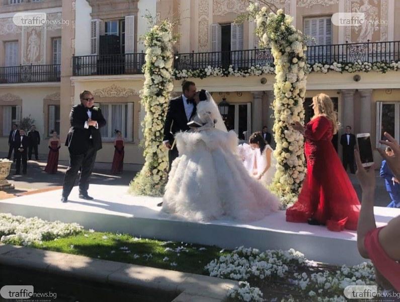 венчавката на Цеци Красимирова