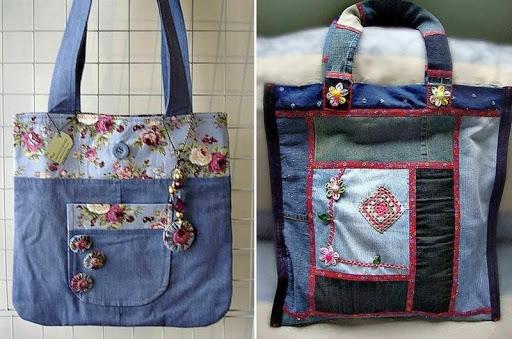 чанта на кръпки