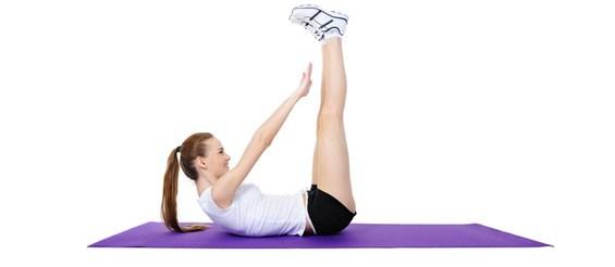 упражнения за долна част на корема
