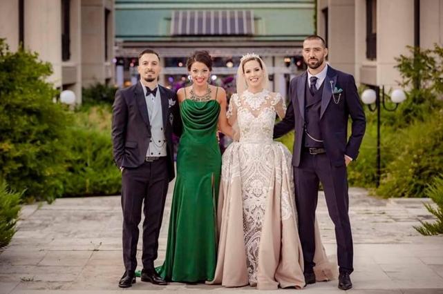 сватбата на Виолета Сиракова