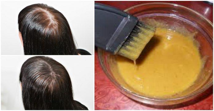 маска за коса с горчица и захар