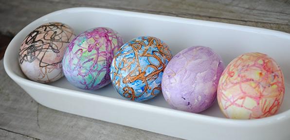 нежни пастелени яйца