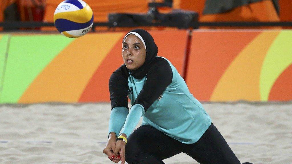 арабска волейболистка