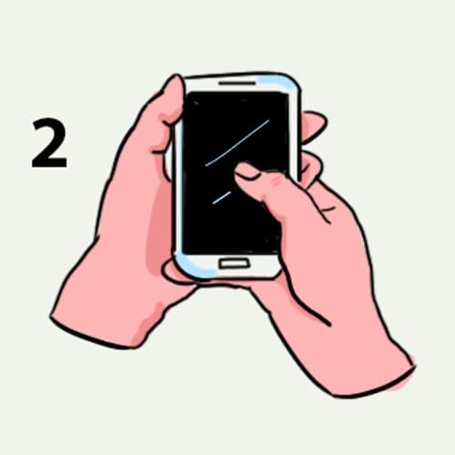 захват на мобилния
