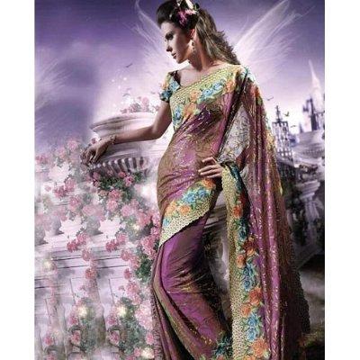 индийски етнически корема unstitched блуза (6) (1)