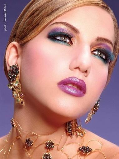 много привлекателен и красив арабски грим (4)