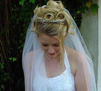 Красива Прическа за Сватба