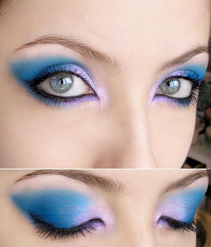 Хелоуин в лилаво и синьо