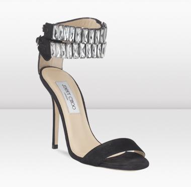 Джими Чу 2010 Стилни Черни Дамски Обувки
