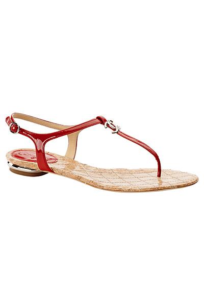 chanel колекция за круиз 2011 червени лачени сандали