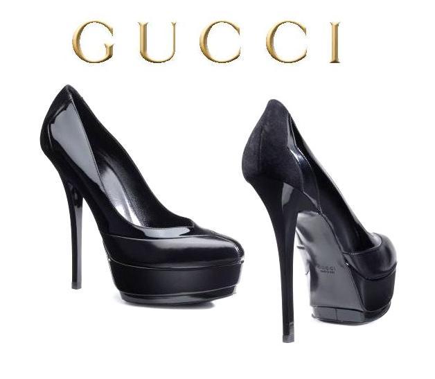Обувки с тройна платформа от gucci