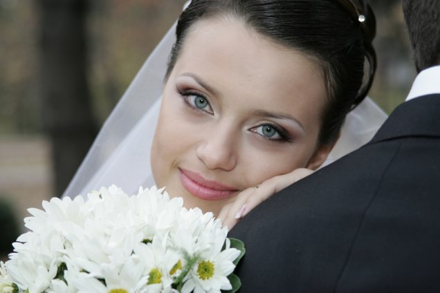 Нежен сватбен грим