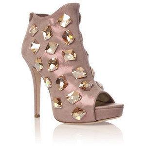 Амелия - Курт Гайгер - обувки на високи токчета с кристали