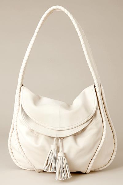 Vanessa Bruno среден размер чанта бяла