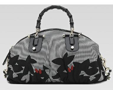 Gucci Top Pop бамбук дръжка чанта (1)