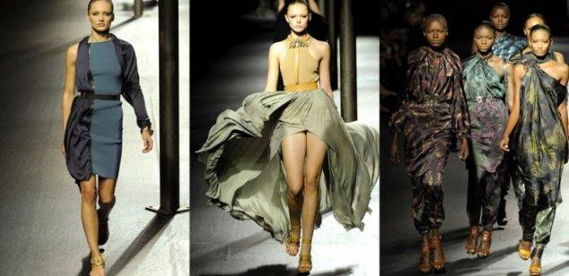 Ланвин 2011 Пролет-Лято Седмица на Модата Париж Сексапилни Рокли