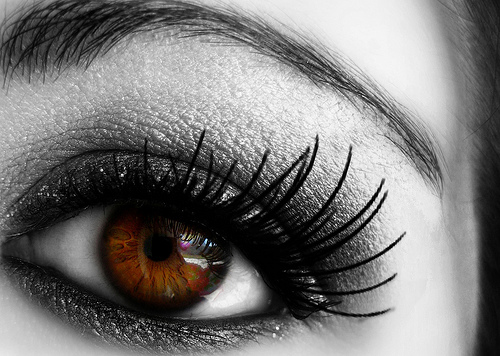 Опушено око