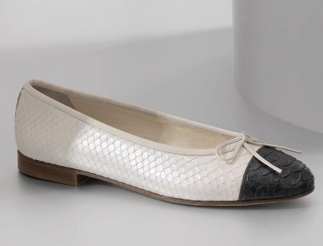 Шанел обувки на балерина