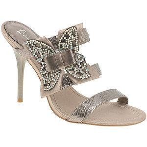 Борн Лиза сандали с пеперуди на токчета