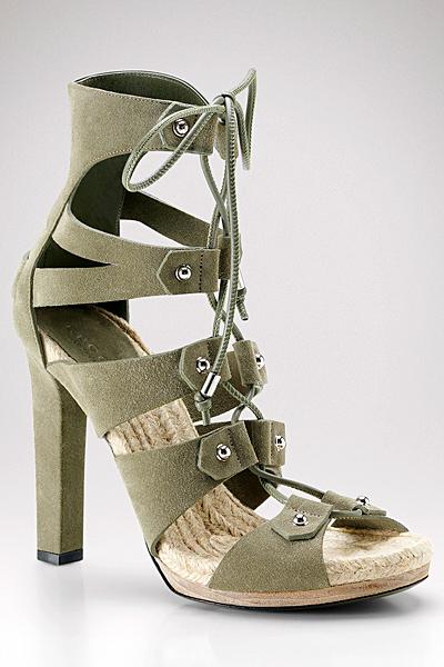 Gucci 2011 високи еспадрили ток