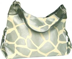 Чанта с принт кожа на жираф