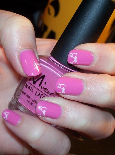 сладко розово с панделки