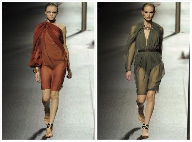 Ланвин 2011 Пролет-Лято Седмица на Модата Париж Рокли Сексапил и Страст