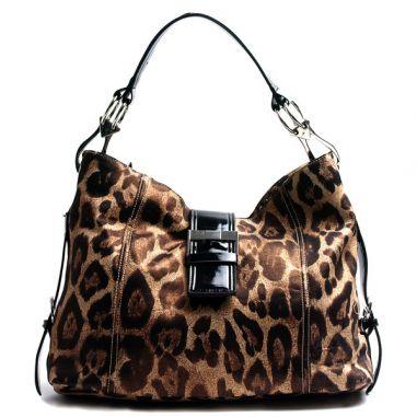 Леопардова чанта сафари