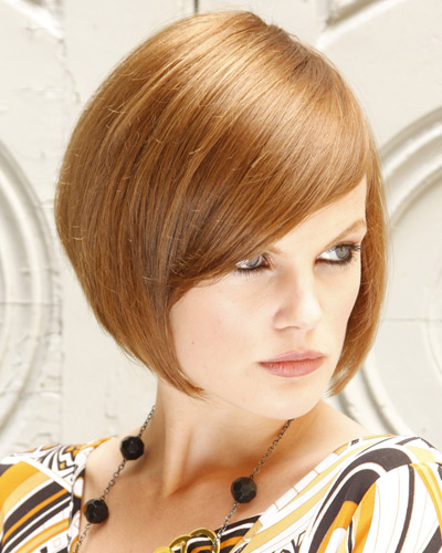 прическа за права коса