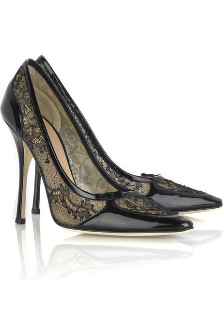 Високи обувки с дантела от Роберто Кавали