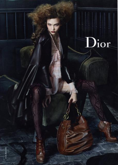 Кристиан Диор Мода Есен-Зима 2010-2011 Рекламна Кампания